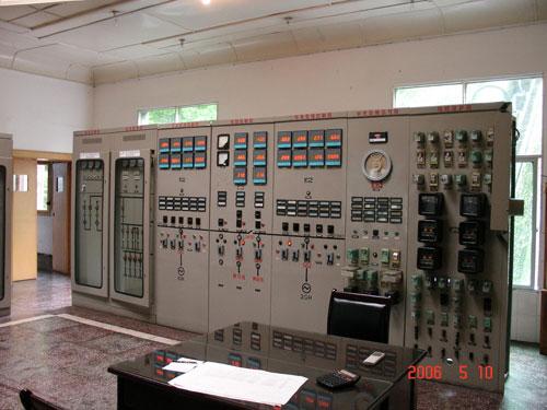 电站机组厂房钢筋混凝土结构图